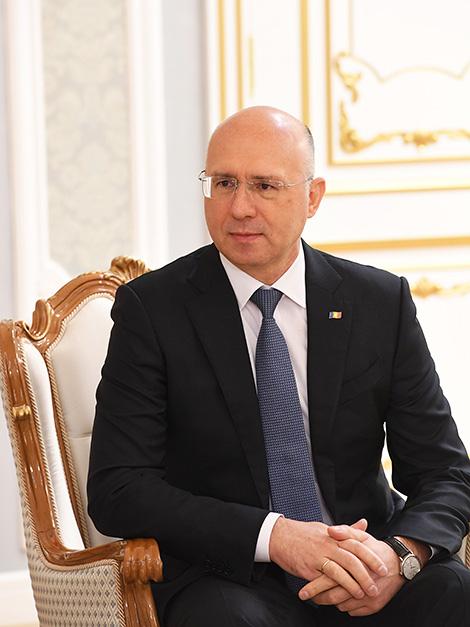 Moldova Prime Minister Pavel Filip