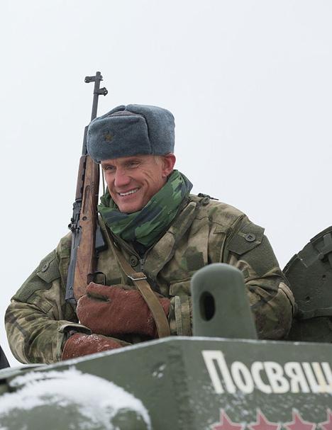 Dolph Lundgren visited Belarus
