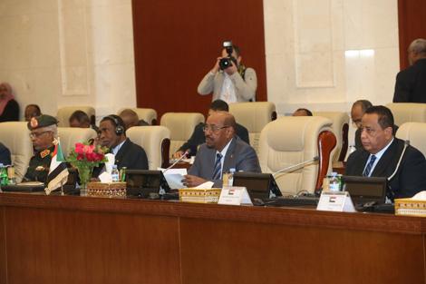 Sudan President Omar Hassan Ahmad al-Bashir