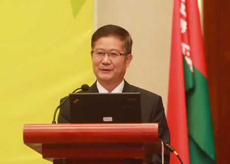 Hu Zheng: Construction of China-Belarus Great Stone park gains momentum