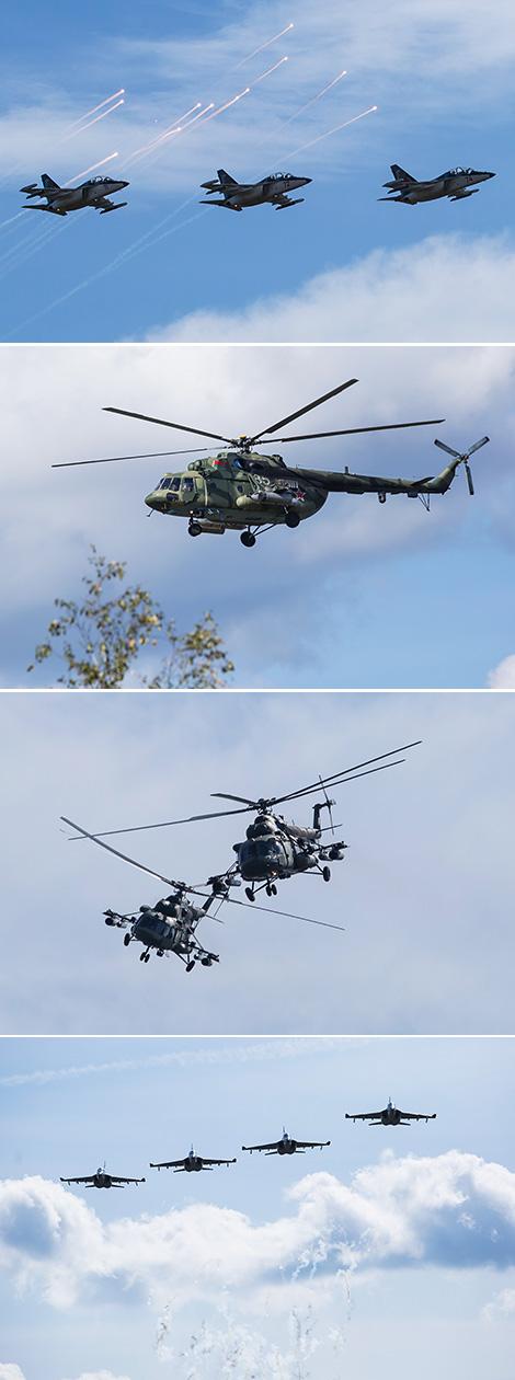 Belarusian-Russian strategic army exercise Zapad 2017 in the Domanovo exercise area