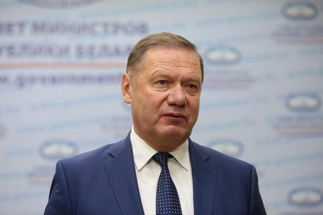 BelVEB Bank Chairman of the Board Nikolai Luzgin