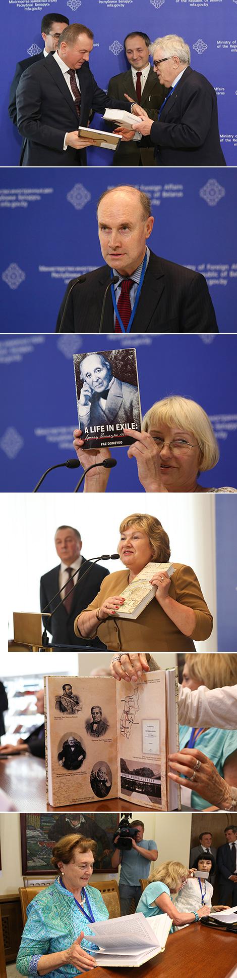 Belarus' MFA hosts event to mark 215th birthday of scientist Ignacy Domeyko