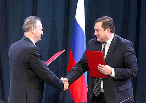 Vitebsk and Smolensk Oblasts sign action plan for 2014-2015