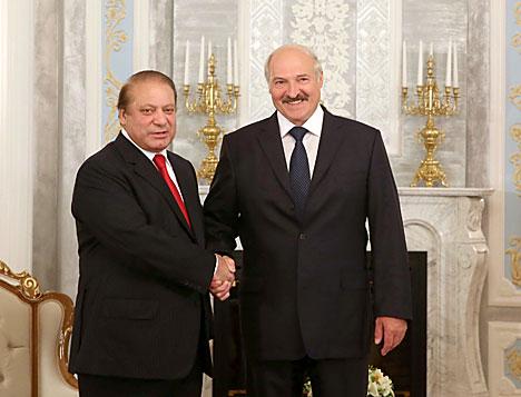 Lukashenko has laid the foundation of Belarus-Pakistan friendship, Sharif says