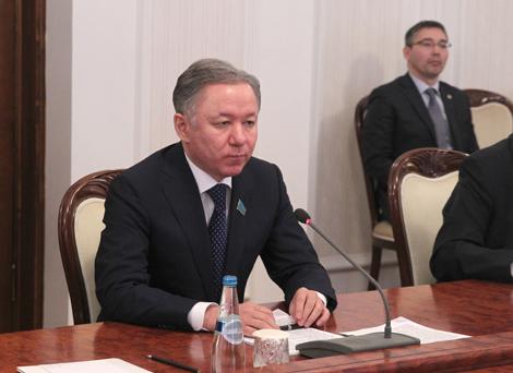 Mazhilis Speaker Nurlan Nigmatulin