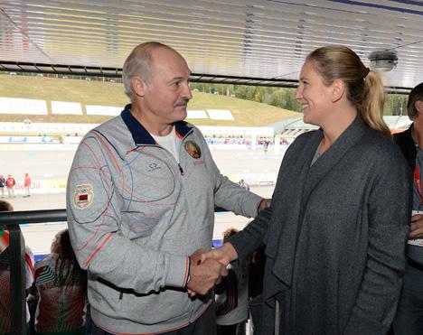 Lukashenko emphasizes growing popularity of Legends' Race in Raubichi