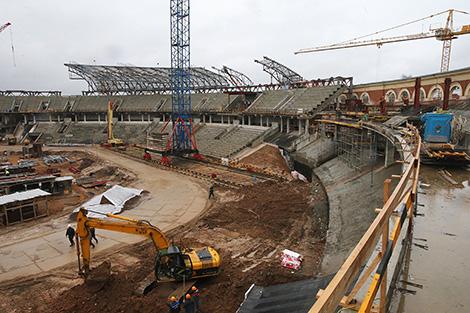 Reconstruction of the Dynamo stadium