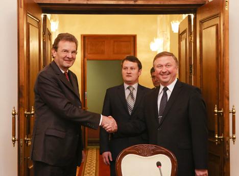 Order of Malta's humanitarian role in Belarus praised
