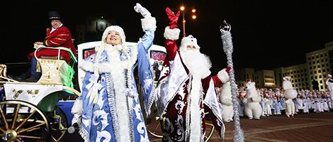 Рождество и Новый год-2018 в Беларуси