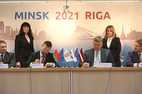Беларусь и Латвия подали совместную заявку на ЧМ по хоккею 2021 года