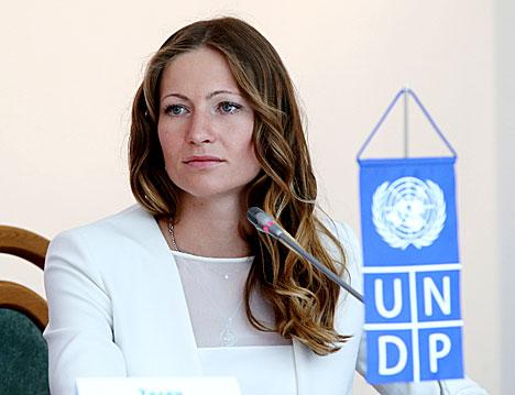 Дарья Домрачева назначена послом доброй воли ПРООН