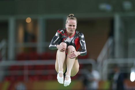 Татьяна Петреня заняла пятое место в турнире по прыжкам на батуте в Рио