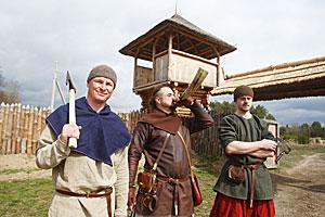 В Лидском районе энтузиасты создают музей викингов под открытым небом