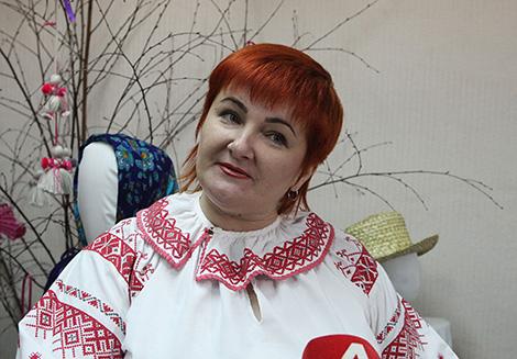 Директор Октябрьского районного дома ремесел Татьяна Холодок