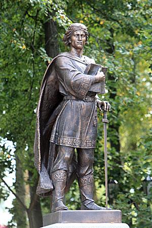 Памятник Изяславу в Заславле