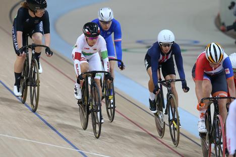 Татьяна Шаракова заняла 9-е место в омниуме на Олимпиаде