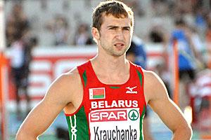 Белорусский легкоатлет Андрей Кравченко