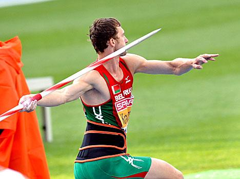 Чемпион Европы в десятиборье белорусский легкоатлет Андрей Кравченко