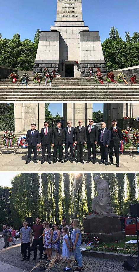 Photo courtesy of Belarus' embassy in Berlin