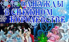 """Новогоднее представление """"Однажды в Снежном королевстве"""""""