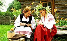 """Фестиваль традиционной культуры """"Зяленыя святкі"""" в Могилеве"""
