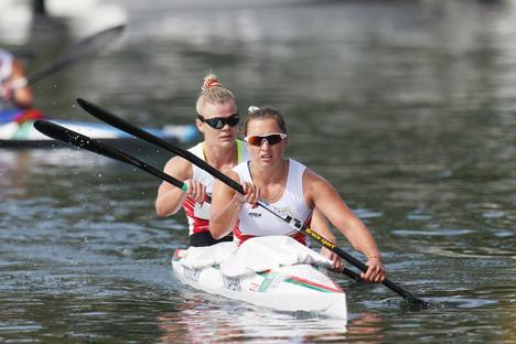 Белорусский экипаж женской байдарки-двойки занял 6-е место на Олимпиаде на дистанции 500 м