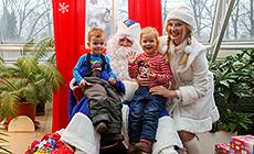 Домик Деда Мороза в минском парке Горького