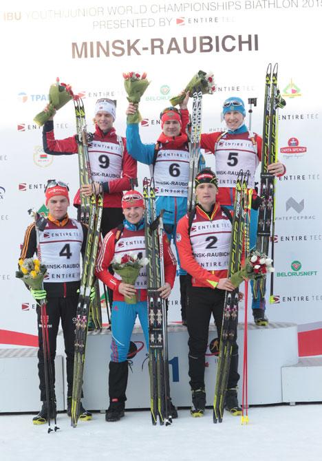 Российский биатлонист Эдуард Латыпов завоевал золото на юниорском чемпионате мира