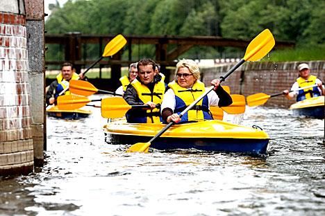 Водный туризм на Августовском канале