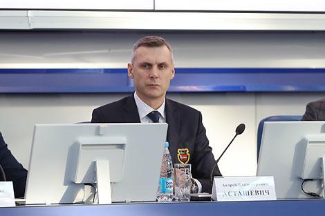 Первый вице-президент НОК Андрей Асташевич