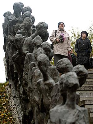 Мемориал памяти жертв Минского гетто