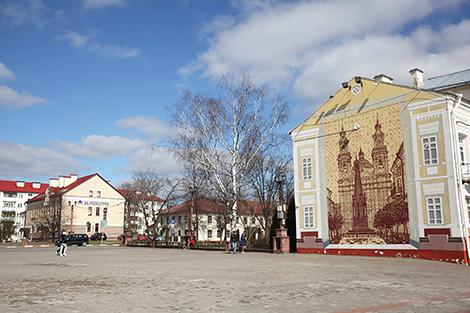 Город Полоцк. Площадка проведения Дня белорусской письменности