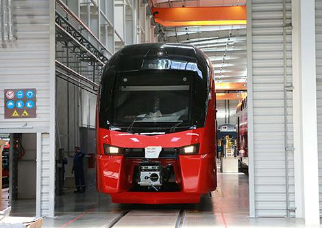 Stadler trains for Minsk subway to be manufactured in Belarus