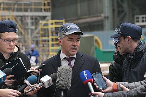 Atomenergomash Director General Andrei Nikipelov