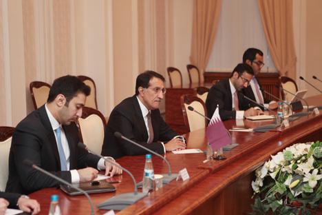 CEO of the Qatar Investment Authority Sheikh Abdullah bin Mohammed bin Saud Al Thani
