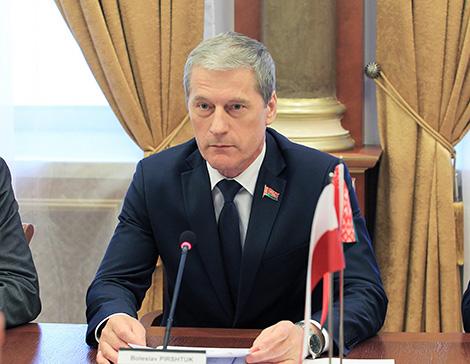 Deputy Chairman of the House of Representatives of the National Assembly of Belarus Boleslav Pirshtuk