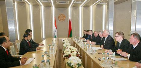 Mikhail Myasnikovich said as he met with Indian Ambassador to Belarus Manoj Kumar Bharti
