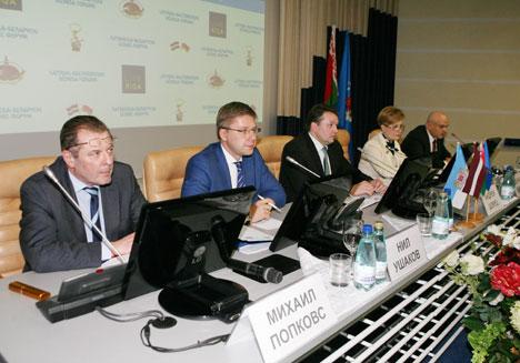 Interest in shipping Belarusian furnace oil via Riga port