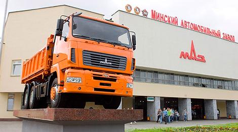 Belarusian MAZ to offer deluxe European trucks in 2017