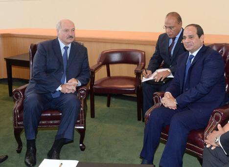 Belarus, Egypt to develop cooperation roadmap
