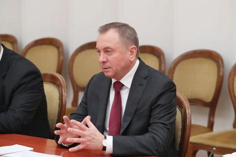 Vladimir Makei. Photo from archive