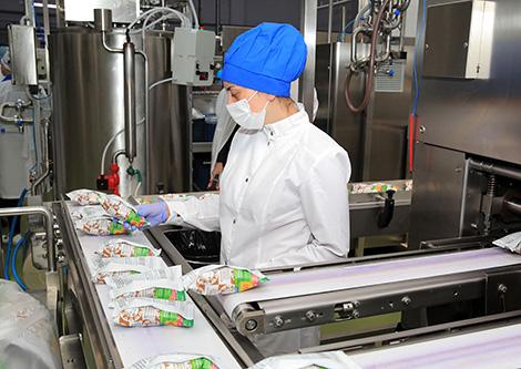 SOOO Morozproduct's retooling campaign in Pukhovichi District, Minsk Oblast