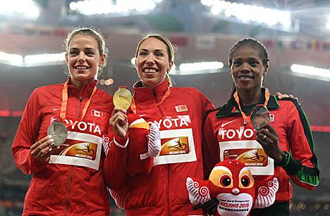 Беларуска Марына Арзамасава стала чэмпіёнкай свету ў бегу на 800 м