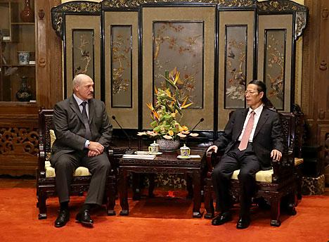 Лукашэнка: Беларусь - не сітуатыўны сябар Кітая, а даўні надзейны партнёр