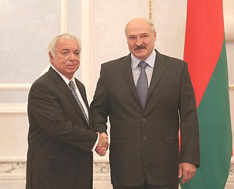 Лукашэнка прыняў даверчыя граматы пасла Бразіліі ў Беларусі