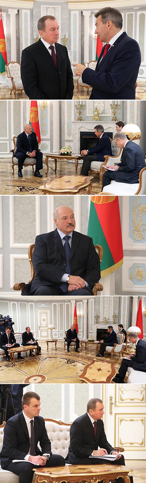 Лукашэнка: Беларусь прадоўжыць падтрымку дзейнасці МКЧК