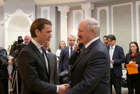 Лукашэнка разлічвае, што Захад зробіць шэраг крокаў адносна Беларусі ў правільным напрамку