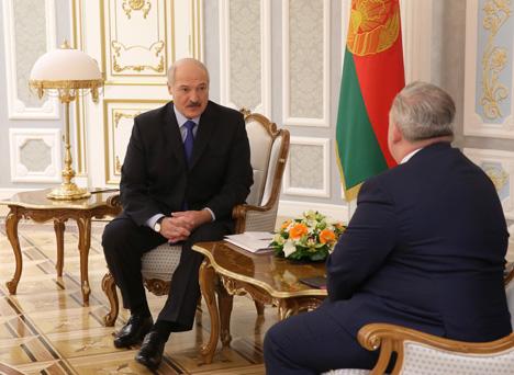 Лукашэнка: Бяспекі не можа быць без супрацоўніцтва