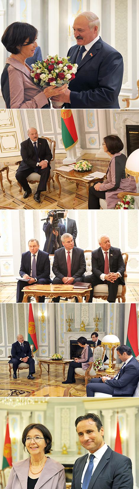 Лукашэнка: АБСЕ можа разлічваць на Беларусь як донара бяспекі ў Еўрапейскім рэгіёне